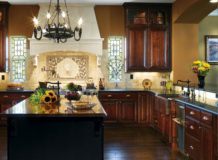 Rustic-Kitchen-design-denver-nc