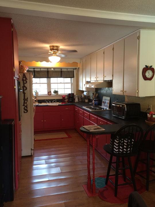 swann kitchen before